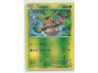 CHESPIN , 8/162 -POKEMON HOLO KORT