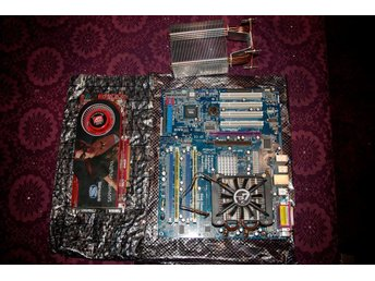 Intel core2duo E7500 LGA775, ASRock 4CoreDual-SATA2 inkl 3gb RAM PC5300 + HD4870