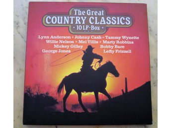 THE GREAT COUNTRY CLASSICS.  10 LP-BOX