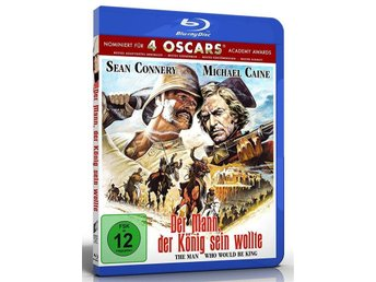 Mannen som ville bli kung (1975) Blu-ray - Sean Connery, Michael Caine (EPIC!) - Norrsundet - Mannen som ville bli kung (1975) Blu-ray - Sean Connery, Michael Caine (EPIC!) - Norrsundet