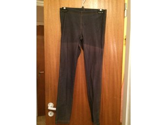 Jeans blå leggings Stl. 164