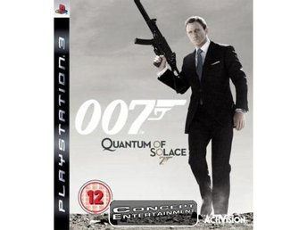 JAMES BOND 007 QUANTUM OF SOLACE (i box) till Sony Playstation 3, PS3