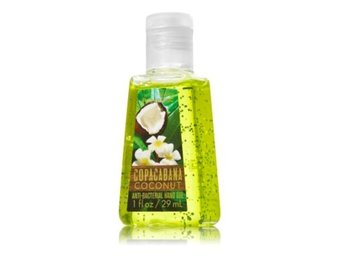BATH & BODY WORKS Anti Bacterial Hand Gel Copacabana Coconut