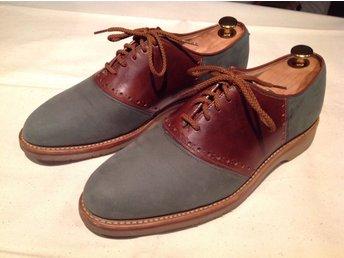 Herrskor Johnston o Murphy saddle skor, stl 9M (42) som nya - Båstad - Herrskor Johnston o Murphy saddle skor, stl 9M (42) som nya - Båstad