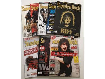 KISS Sweden Rock Magazine, 8 nummer