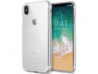 Mercury Jelly Case Apple iPhone X Färg: Transparent