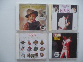 "Javascript är inaktiverat. - Göteborg - 4 st CD med Elvis presley ""Elvis Country"" (1971) ""Love Letters From Elvis"" (1971) ""Elvis Sings The Wonderful World Of Christmas"" (1971) ""Elvis Now"" (1972 FAST PRIS - Göteborg"