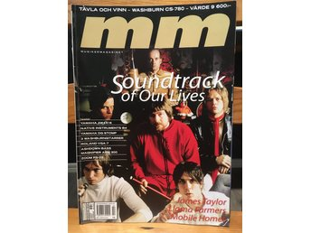 Musikermagasinet MM. Nr. 2, februari 2001. Soundtrack of Our Lives m.fl.