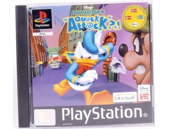 Disney's Donald Duck Quack Attack - PS1 - PAL (EU)