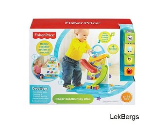 FISHER-PRICE Klossbanan Ord Pris 599:-