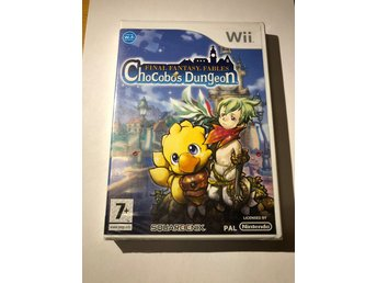 Final Fantasy Fables Chocobos Dungeon (Inplastad UKV WII)