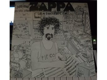 Lp Frank Zappa - Leatherette (Rare 2LP från Lunar Toons 1978)