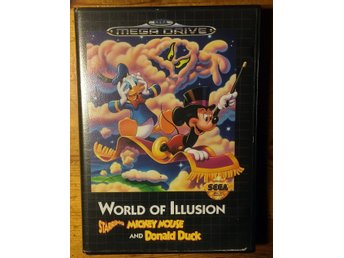 World of Illusion Starring Mickey Mouse and Donald Duck (MEGA Drive BEG! - PAL)