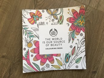 The body shop - målarbok ( the world is out source of beauty)