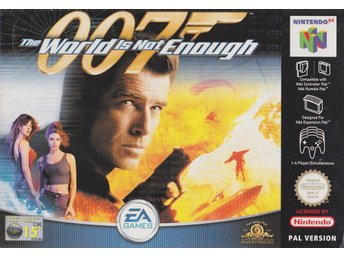 007- The World Is Not Enough - N64 - Komplett