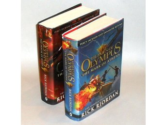 2 Böcker: Heroes of Olympus & The Mark of Athena - house of Hades : Riordan Rick