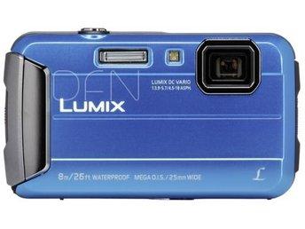 Panasonic Lumix DMC-FT30 blå - Höganäs - Panasonic Lumix DMC-FT30 blå - Höganäs