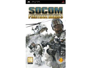 SOCOM: US Navy Seals Fireteam Bravo 3 - Sony PSP - Varberg - SOCOM: US Navy Seals Fireteam Bravo 3 - Sony PSP - Varberg