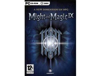 Might and Magic IX / klasssiskt PC spel / NY <----
