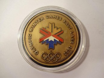 Olympic Winter Games Salt Lake City 2002 - Commemorative medal