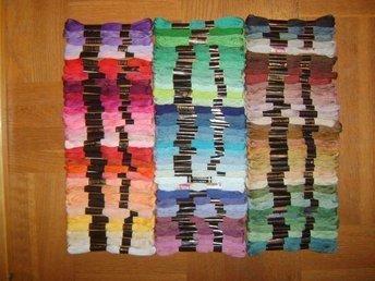100 st dockor * broderigarn * Mouline Garn 100 olika färger - Stralsund - 100 st dockor * broderigarn * Mouline Garn 100 olika färger - Stralsund
