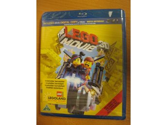LEGO THE MOVIE 3D - BLU-RAY 3D + BLU-RAY 2D - NY, INPLASTAD