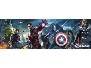 The Avengers 158cm x 53cm Doorposter