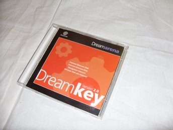 Sega Dreamcast Dream Arena - Dreamkey version 2.0 Internet Browser Disc
