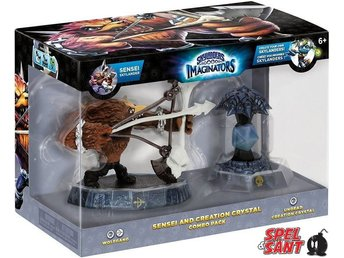 Skylanders Imaginators Sensei and Creation Crystal Combo Pack (Undead)
