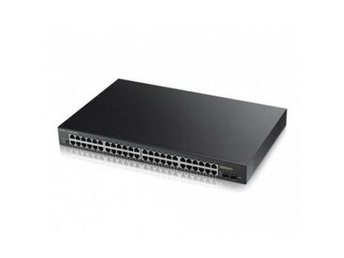 ZyXEL GS1900-48HP 48 port L2 GbE, Rack, PoE+ 170W