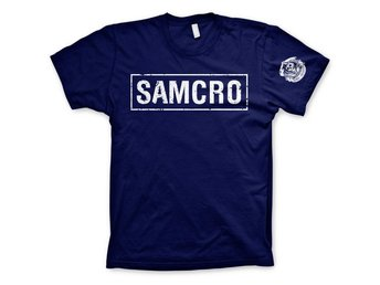 SAMCRO DISTRESSED T-SHIRT STL S