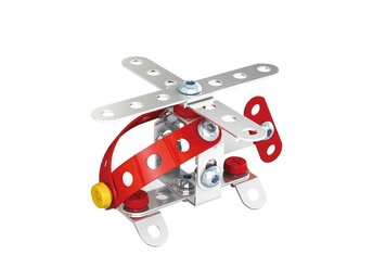 DIY Metal Assembly Flygplansmodell Kit Baby Kids Vehicle Puzzle Intellectual Toy