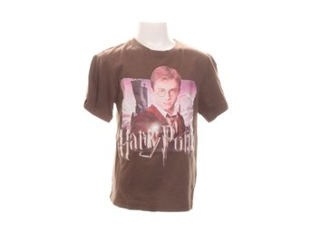 Harry Potter, T-shirt, Strl: 134cm, Brun/Flerfärgad