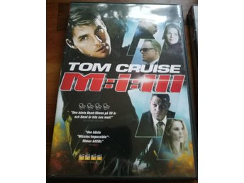 2st DVD-TOM CRUISE-Mission Impossible M:I:III+Collateral (Ex Hyrfilm)