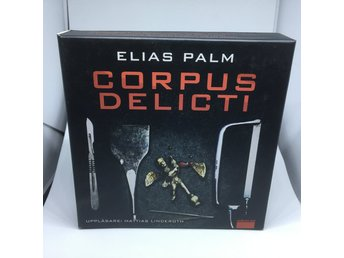 Ljudbok. Elias Palm. Corpus Delict    10 cd  12 tim ( ingen mp3)
