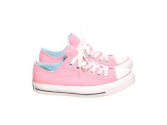 Converse, Tygskor, Strl: 37, All Star Low, Rosa