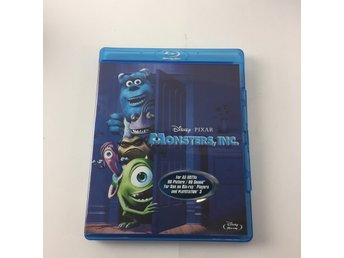 Disney, Blu-ray Film, Monster inc