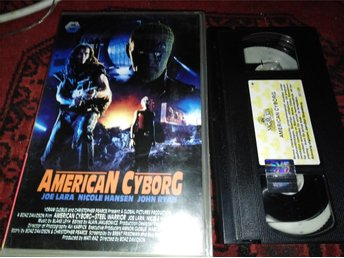 American cyborg - Steel warrior (1993) Svensk Rental hyr