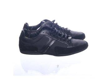 various colors 7765e 001c0 Hugo Boss, Sneakers, Strl  43, Svart, Skinn
