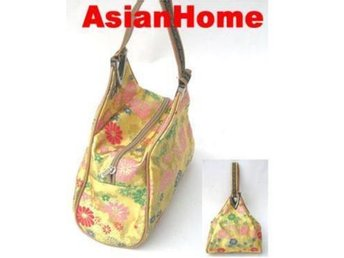 *AsianHome* NY! Japanska Embroided Satin Handväskor (b4)