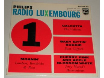 Radio Luxembourg No 1 OMSLAG EP 196? VG++
