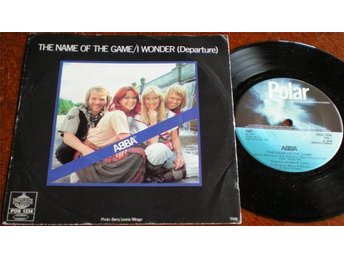 Abba 45/PS The name of the game 1977 VG++