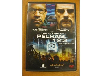 THE TAKING OF PELHAM 123 -  JOHN TRAVOLTA   -  DVD