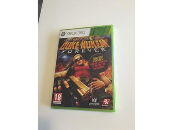 NYTT & inplastat - Xbox 360 - Duke Nukem Kick Ass Edition - Skarpnäck - NYTT & inplastat - Xbox 360 - Duke Nukem Kick Ass Edition - Skarpnäck