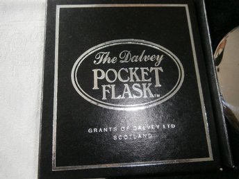 The Dalvey Pocket Flask, nyvara höjd ca 13 cm ord pris ca 1000:-