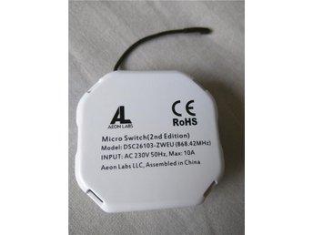 Aeon Labs Micro Switch 2nd edition - Göteborg - Aeon Labs Micro Switch 2nd edition - Göteborg