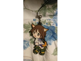 Strike witches yoshika nyckelring anime manga moe chibi Japan kawaii