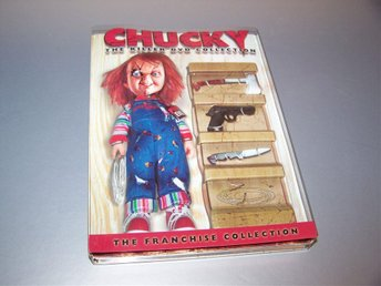 Chucky Killer DVD Collection (4 disc) / Reg. 1 (US) - NY - Childs Play 1+2+3+4 - Gnesta - Chucky Killer DVD Collection (4 disc) / Reg. 1 (US) - NY - Child's Play 1+2+3+4 - Gnesta