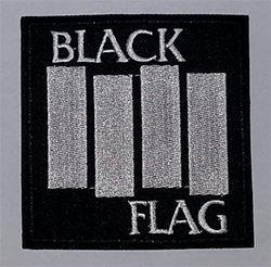 Black Flag Patch / Tygmärke.