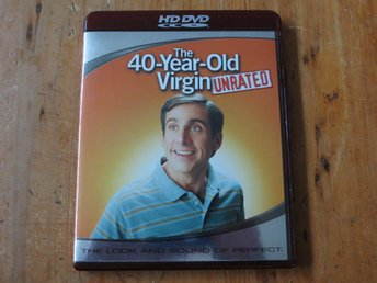 THE 40-YEAR-OLD VIRGIN - UNRATED (HD DVD) Steve Carell